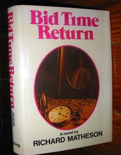 Somewhere in Time is based on this novel...set at my favorite place, The Hotel del Coronado on an island off San Diego.