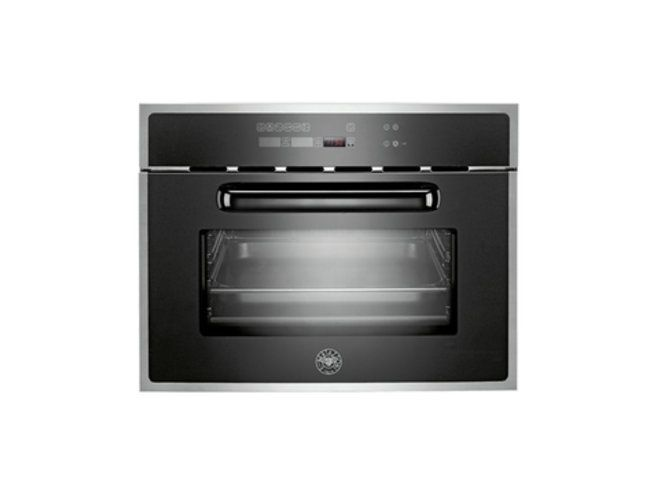Bertazzoni steam oven with 30 preset cooking programs, 6 cooking functions, fully stainless steel cavity, double glass oven door & touch control panel (model F45 CON VAP X) for sale at L & M Gold Star (2584 Gold Coast Highway, Mermaid Beach, QLD). Don't see the Bertazzoni product that you want on this board? No worries, we can order it in for you!