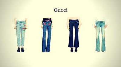 Top 12 Marcas de Calças Jeans Femininas - Calças Jeans Femininas da Gucci