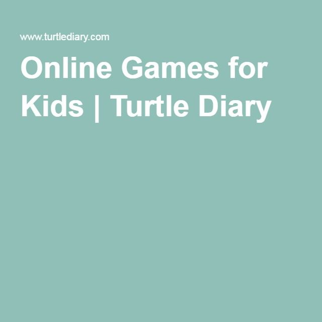Online Games for Kids | Turtle Diary