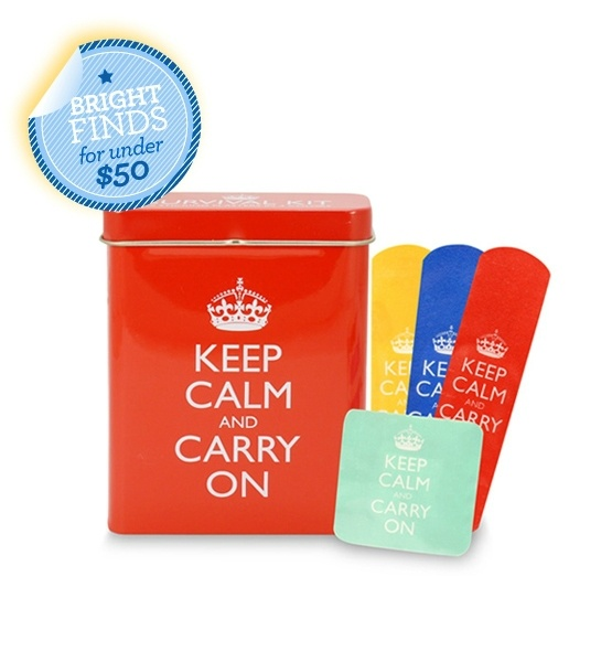 Glo's latest obsession, keep calm & Carry On sticking plasters