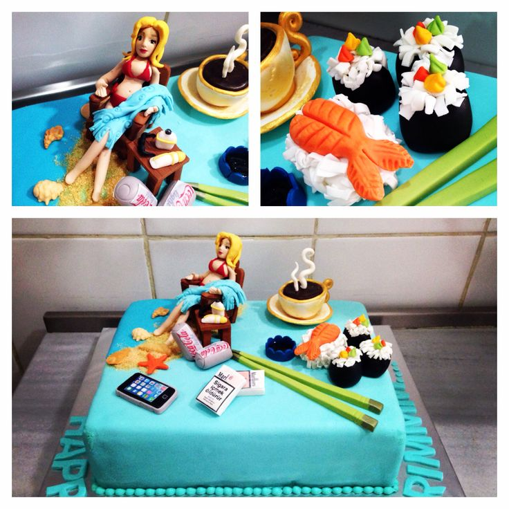#sushi #sun #sunbathing #marlboro #cigarette #light #cocacola #coffee #sea #holiday #blond #iphone #Muskat