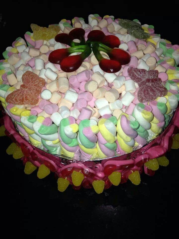 Marshmallow cake recipes easy