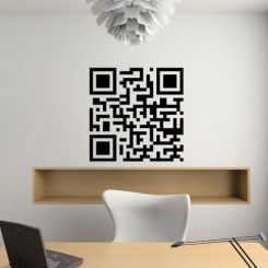 Square Code - Wall Decals Stickers