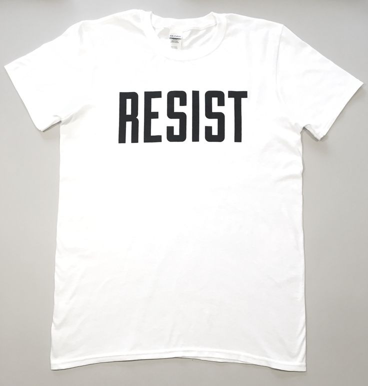 The product 'resist' logo t-shirt is sold by violet and percy in our Tictail store.  Tictail lets you create a beautiful online store for free - tictail.com