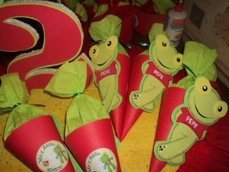 Cotillón Fiestas Infantiles: Sapo Pepe