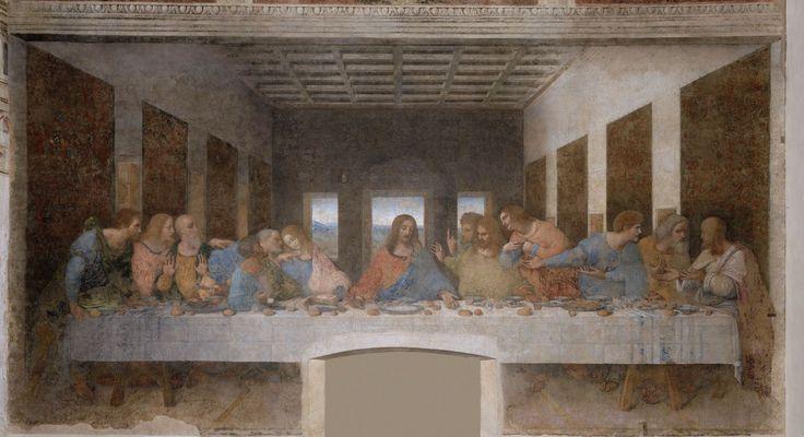 Леонардо да Винчи. Тайная вечеря