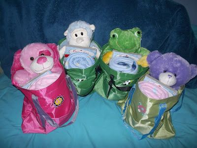 Project Night Night - Nightime bags for homeless children.  Include stuffed animal, blanket and book in a bag.