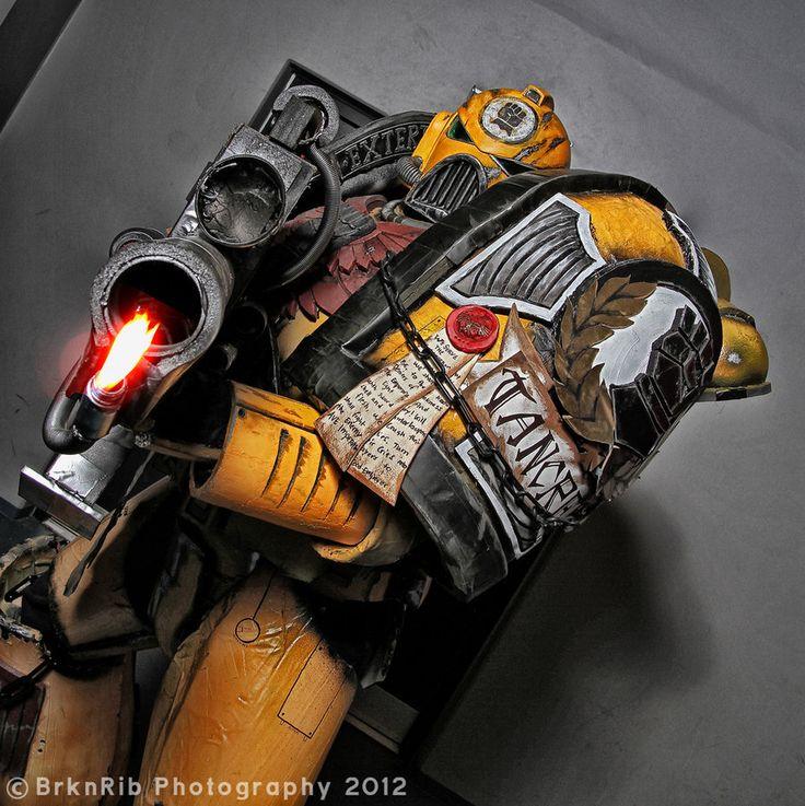 Awesome Warhammer 40K Costume