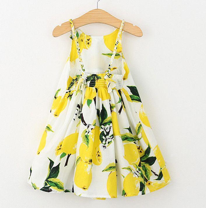 Lemony Goodness Dress