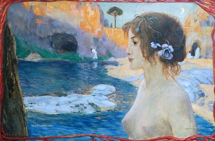 Ludwig von Hofmann: Simbolismo, Art Nouveau y homoerotismo - TrianartsTrianarts