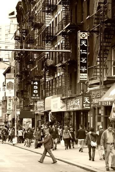 Urban Landscape - Chinatown - Manhattan - New York City - United States Photographic Print by Philippe Hugonnard at AllPosters.com