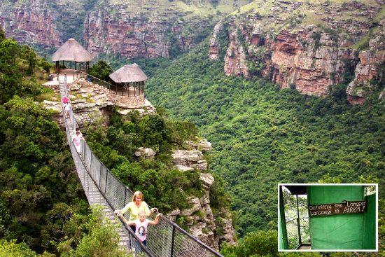 Oribi gorge - Natal.  South Africa