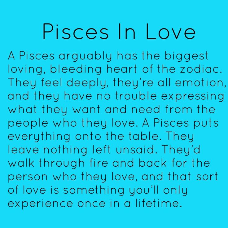 Pisces in Love OHHH My Gosh ....This Is So Me ......Especially with my Babies and my Grand Babies,Not to mention if I ever  get to have a love of my life ❤️❤️❤️❤️❤️