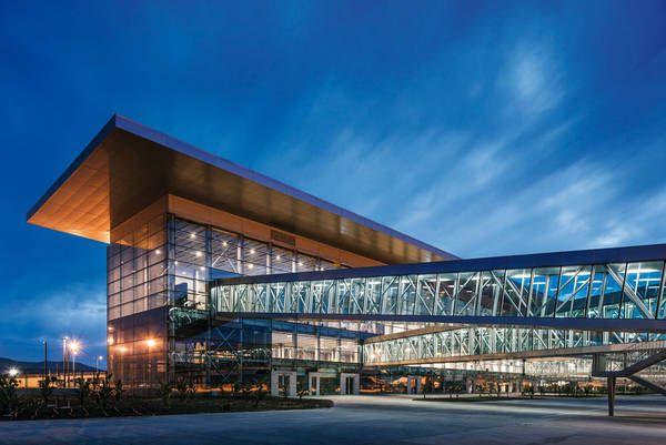 Tabanlioglu Architects Melkan Gursel & Murat Tabanlioglu, aeropuerto internacional Bodrum, Mugla, Turquía