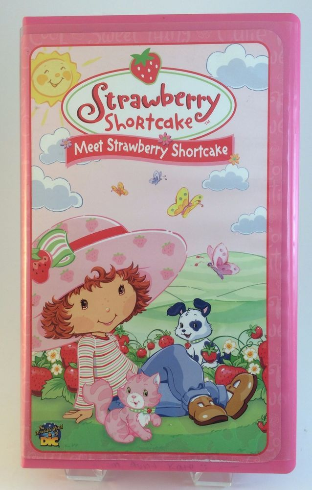 Meet Strawberry Shortcake VHS Animated with Music Video 2003 DIC Entertainment