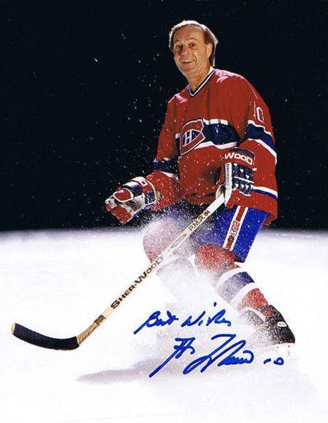 Guy Lafleur de 1971 à 1985 pour les Canadien de Montréal