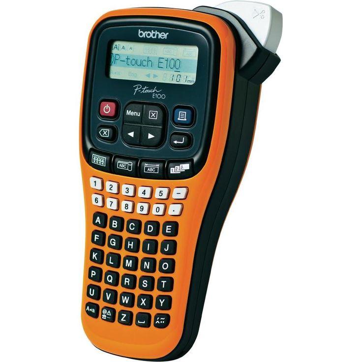 Beschriftungsgerät Brother P-touch E100 Geeignet für Schriftband: TZ 3.5 mm, 6 mm, 9 mm, 12 mm -15,99