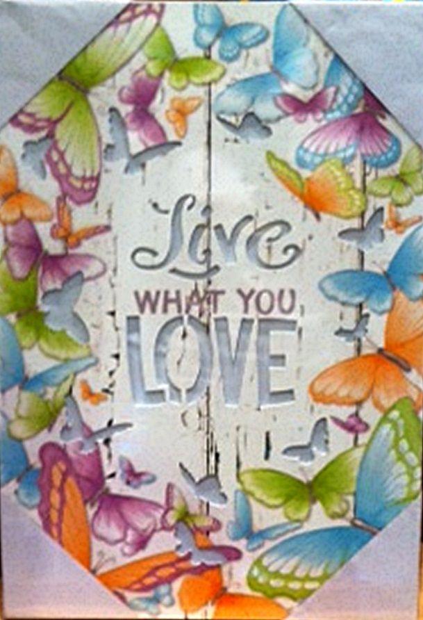 The Gecko Shack - Inner Love LIVE WHAT YOU LOVE  33 x 47cm LED Light Box by Lisa Pollock, $36.50 (http://www.geckoshack.com.au/inner-love-live-what-you-love-33-x-47cm-led-light-box-by-lisa-pollock/)