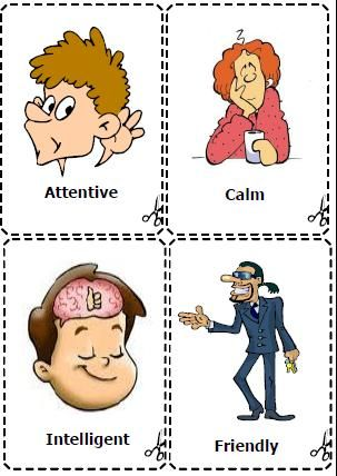 Personality Adjectives Flashcards Personality adjectives