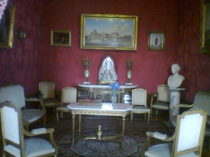 Sala de estar.   Castillo de Chapultepec   Pinterest