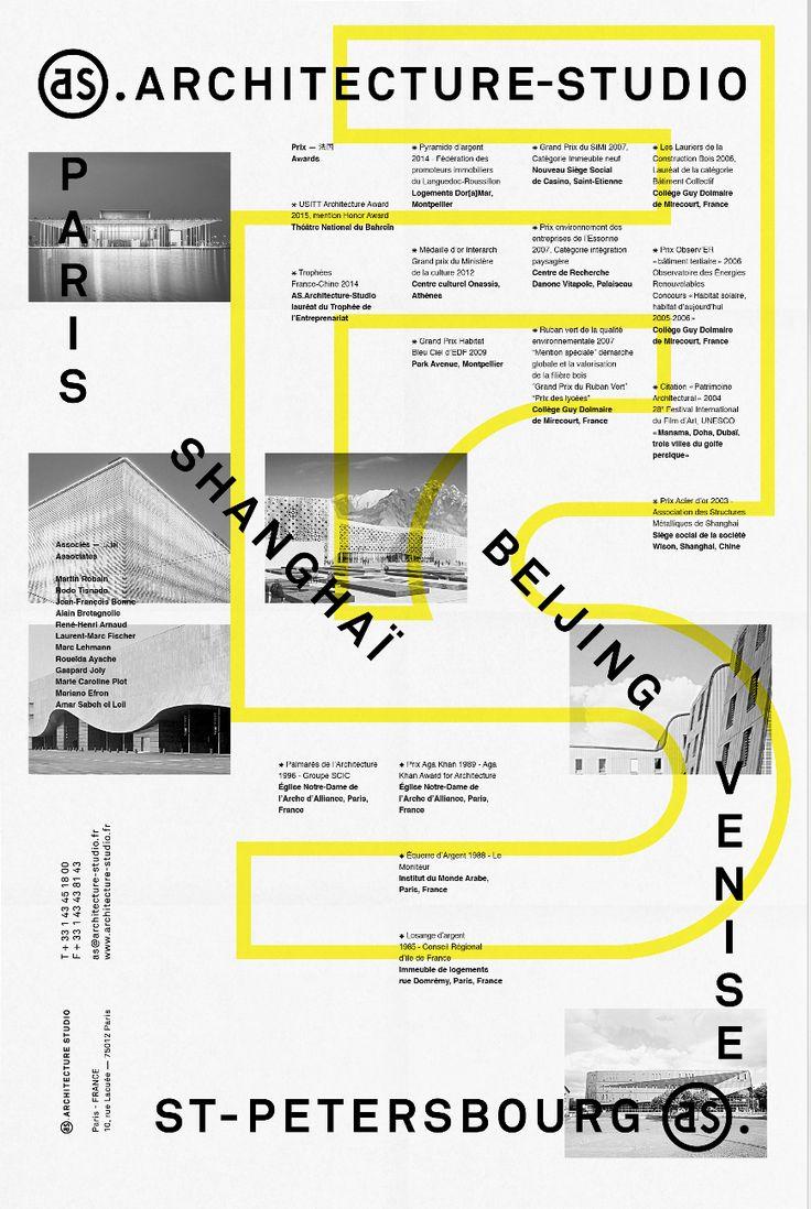 "unquoted-sheets: ""AS.ARCHITECTURE-STUDIO / les Graphiquants 2014 "" Art+Design+Fashion+Interiors @ inzpired.tumblr.com"