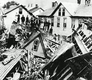 The Johnstown Flood 1889 not really Pittsburgh but close