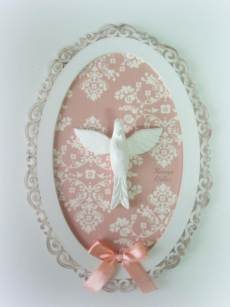 Quadro Oval Espírito Santo! | Mamys Atelier | Elo7