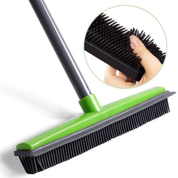 Beabos Broom 2020 Upgraded In 2020 Broom How To Clean Carpet Rugs On Carpet