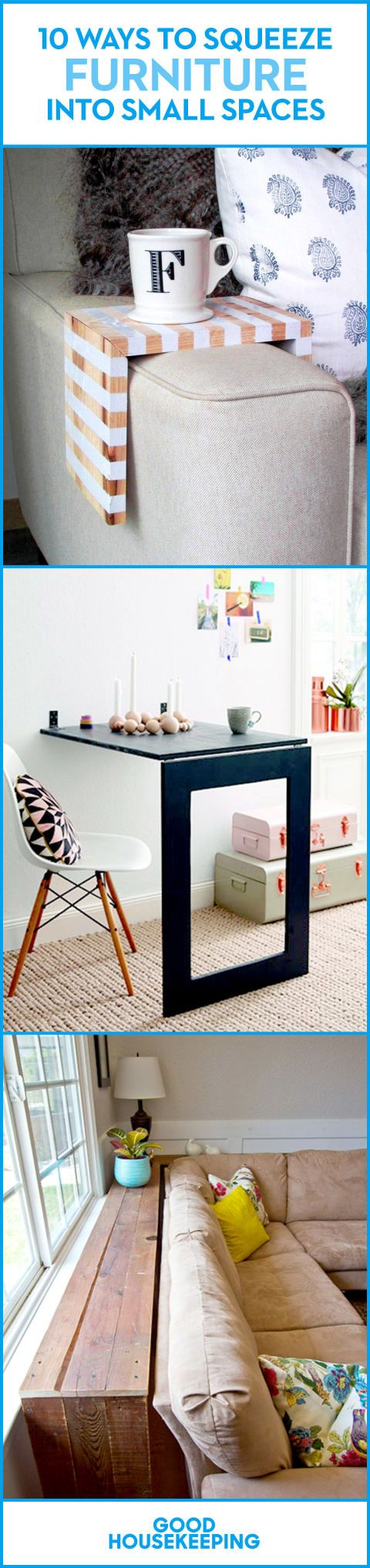 furniture small spaces. 10 ways to squeeze furniture into small spaces