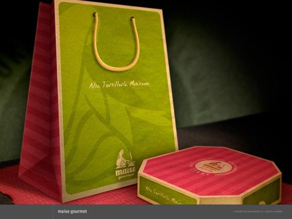 Packaging para Maise Gourmet  by Carlos A. Rivera, via Behance