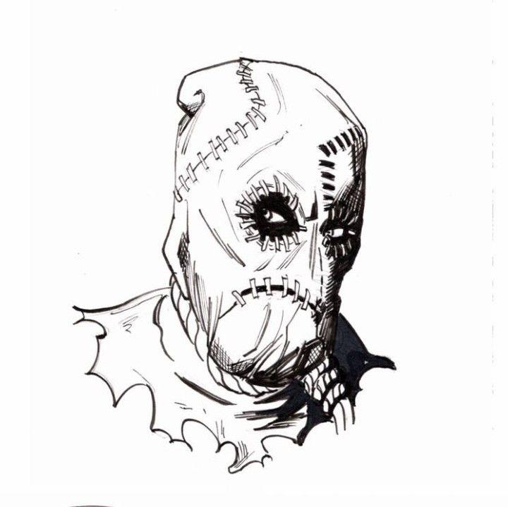 Quick Sketch Of Dr Crane Scarecrow Dickgrayson Batman Dccomics Hero Sidekick Sketch Drawing Co Scarecrow Batman Batman Drawing Scarecrow Dc