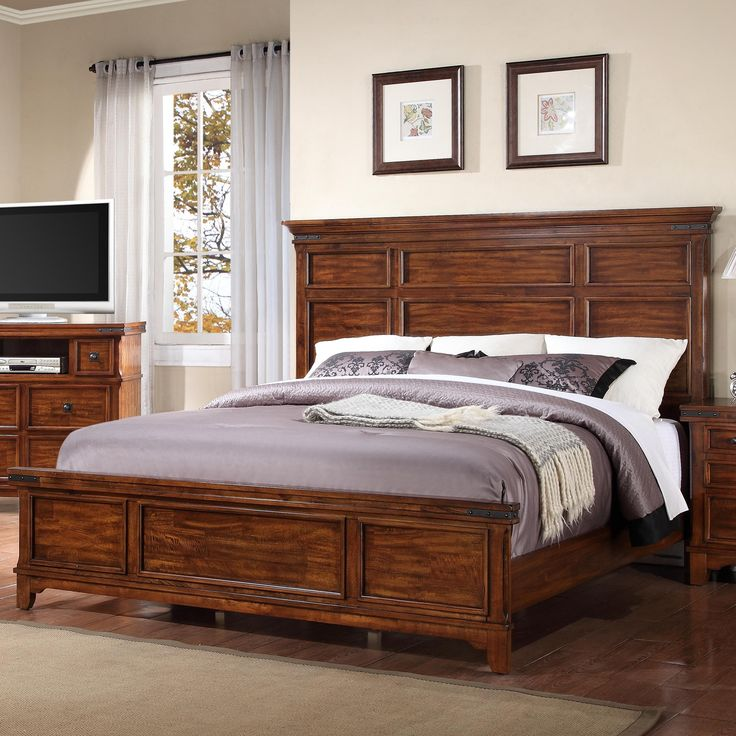 Layton Queen Panel Bed By Holland House