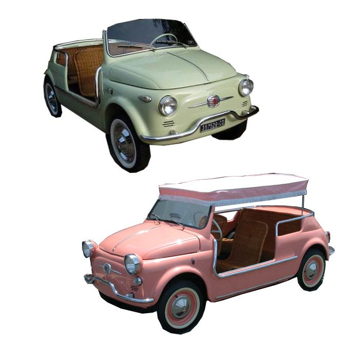 Produced Between 1958 And 1966, The Fiat Jolly Vehicles