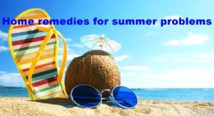 SUMMER HOME REMEDIES TO KEEP YOU HEALTHY !   JUNE 8, 2017UNCATEGORIZEDNO COMMENTS summer home remedies  Summer home remedies for summer problems      Quck bites  In summer, our body gets the most damage. The use of plain water keeps your skin fresh. Cucumber juice works like a natural moisturizer. Wood apple juice is considered very good for summer.
