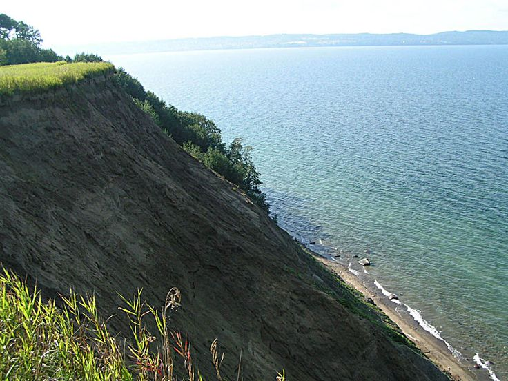 This is lake Vättern, the 2nd largest lake in Sweden.