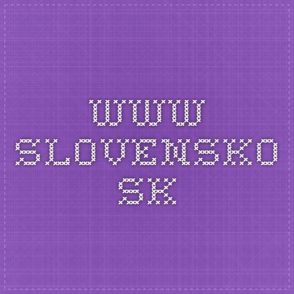 www.slovensko.sk
