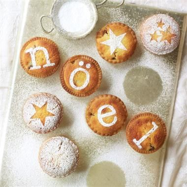 Lovely mince pie decorating idea.
