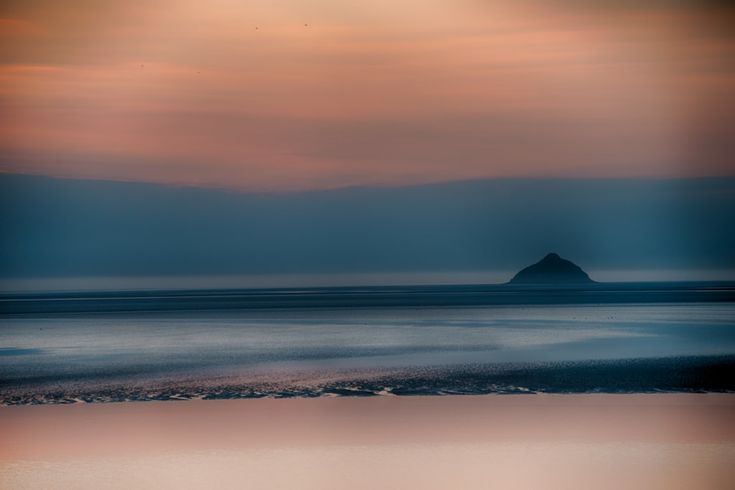 Tomblaine rock - Mont Saint Michel Bay by Jean Michel