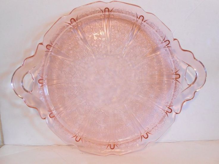 Pink Cherry Blossom Depression Glass - Bing Images