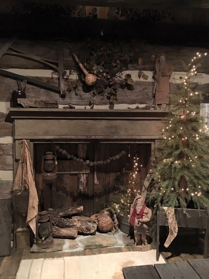 1743 best ❥Primitive\u2022´¯`»¸¸\u2022´¯`» images on Pinterest Prim - primitive christmas decorations