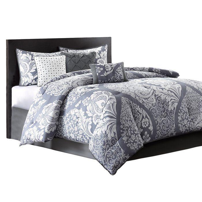Three Posts Milltown 7 Piece Comforter Set Reviews Wayfair Comforter Sets Luxury Comforter Sets Bedding Sets