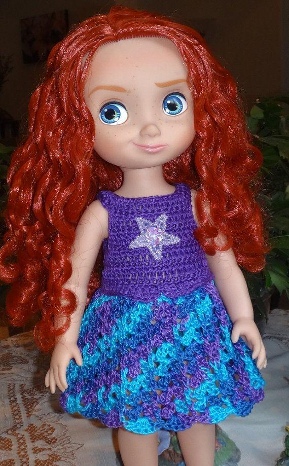 Crochet Disney 16 inch Animator Princess by dollcrochetboutique