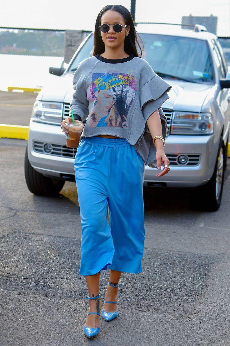 Look do dia: Rihanna