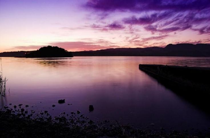 The lake of isle of innisfree
