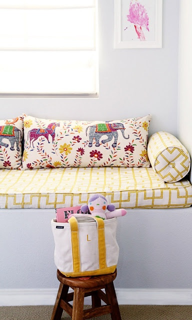 great color inspiration for a little girl's room