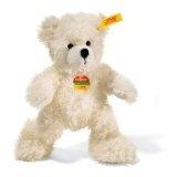 Steiff 111365 - Teddybär 18 cm Lotte weiss