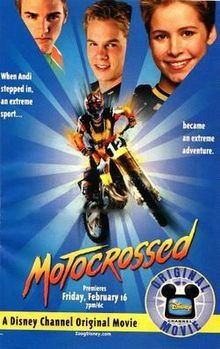 Motocrossed dvd DIsney Channel movie