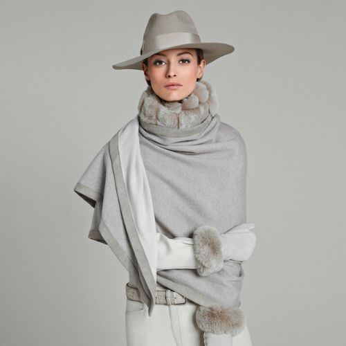 NOT A FAN OF THE HAT but love the rest! Ladies' Highlights Fall Winter | Loro Piana