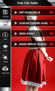 Free Folk online music radio stations from all over the world in one single top app. Download free here https://play.google.com/store/apps/details?id=com.popularradiostations.freefolkmusic  and enjoy largest web radio application with best folk music broadcast on the market. All radio stations are live streams and you can listen them in any time on your mobile phone.